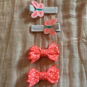 Hair Clips - Set of 4
